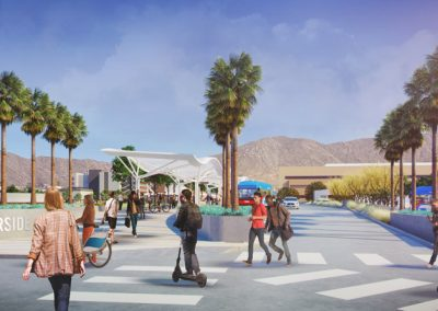 University of California Riverside Mobility Hub and Central Campus Improvements