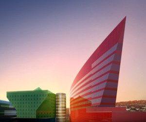 Los Angeles Business Council Un-Built Commercial Building Award 2008