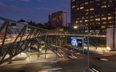 Metro Universal City Station Pedestrian Bridge*