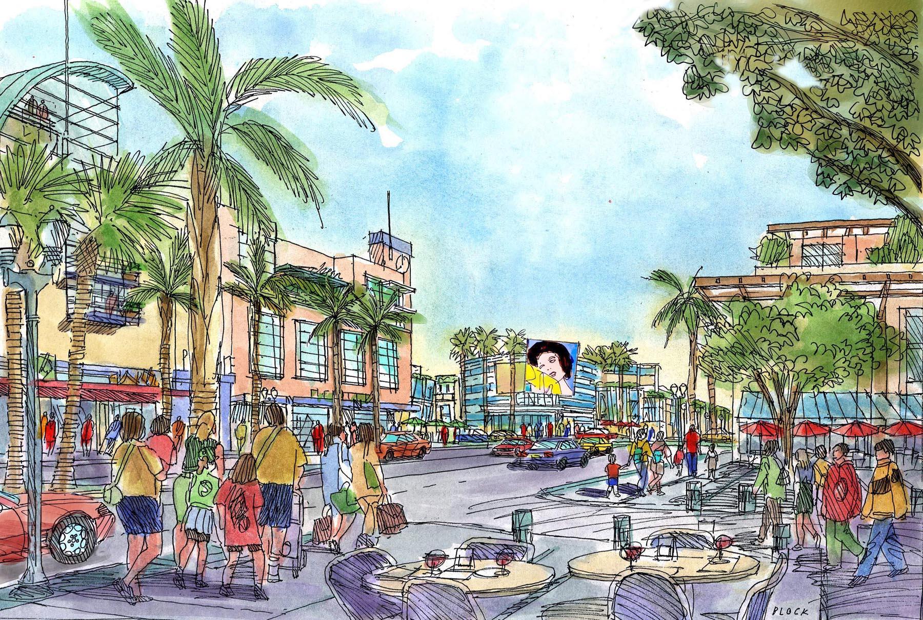 Downtown Monterey Park Mixed Use & Pedestrian Linkages Plan