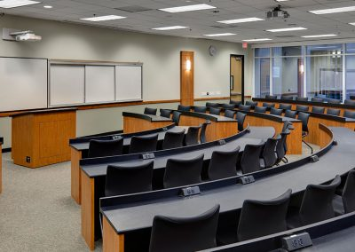 UCI School of Law, Moot Court & Classrooms