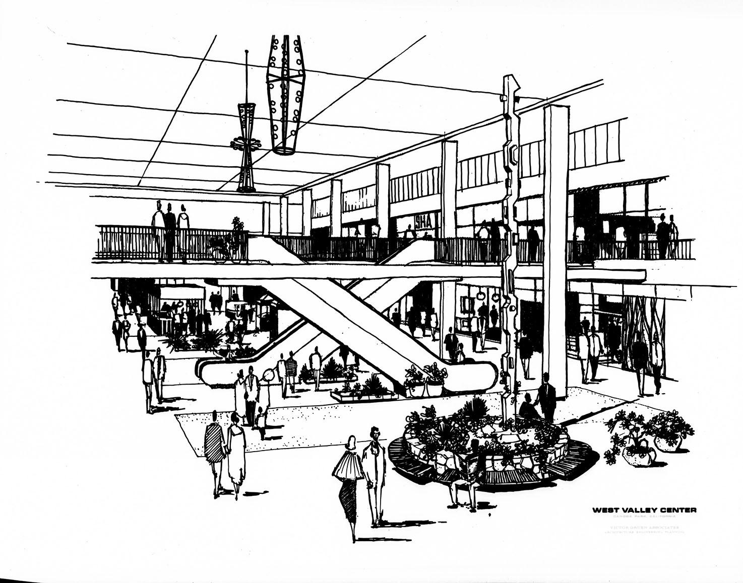 Topanga Plaza_West Valley Center Interior