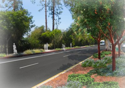 Foothill West View-median