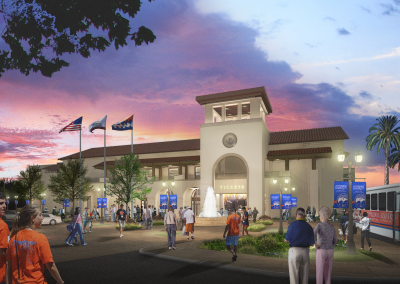 RENDERING - PEC East Plaza Offical Banners