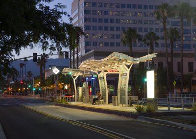 sbX E Street Bus Rapid Transit Corridor