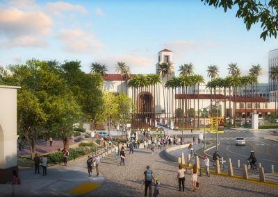 Los Angeles Union Station Forecourt and Alameda Esplanade Improvements Project