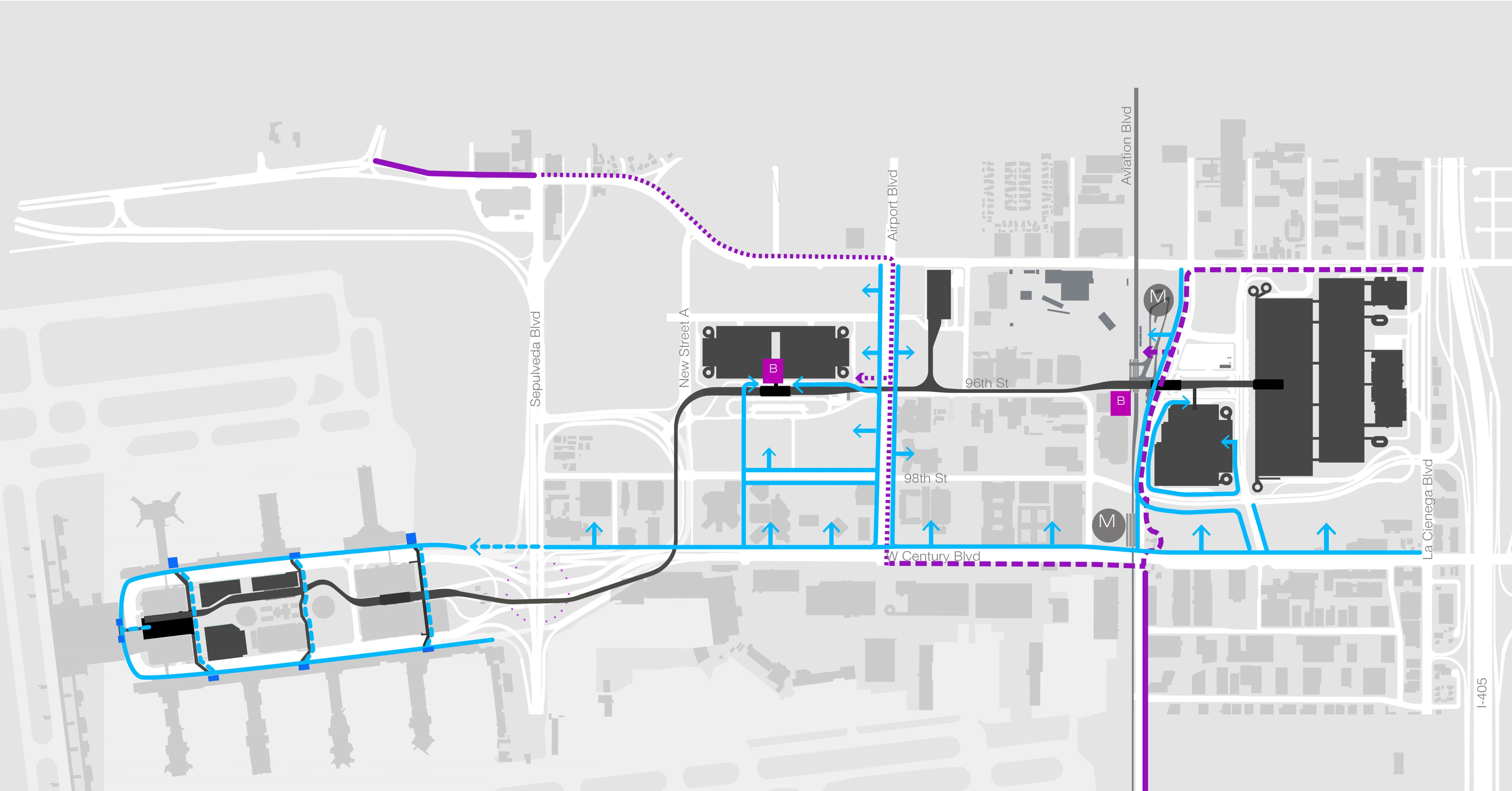 LAX Design Guidelines_Ped and Bike Connections