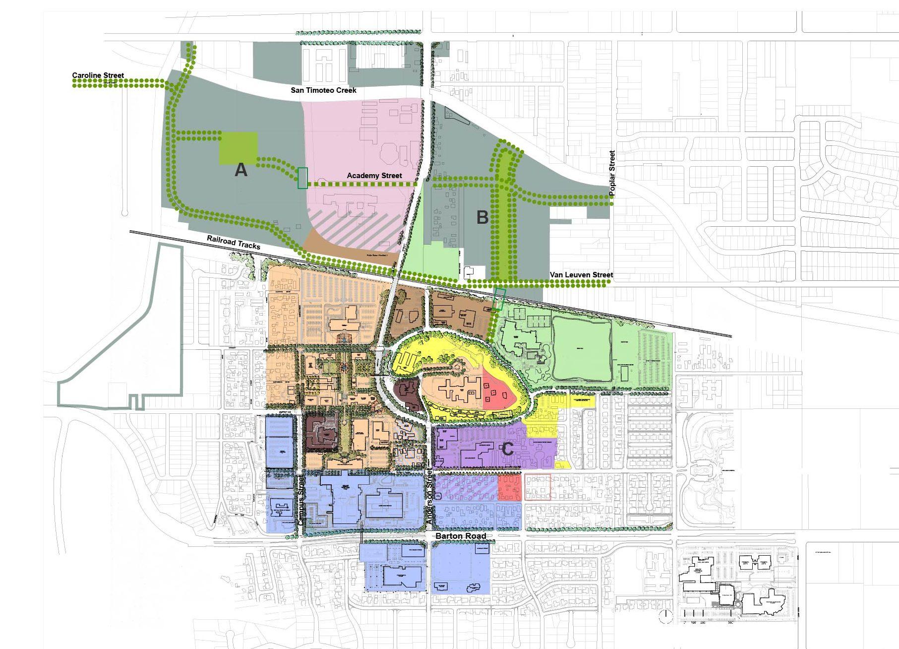 Master Plan Functional Zones_Urban Design-Lansc Framework-01