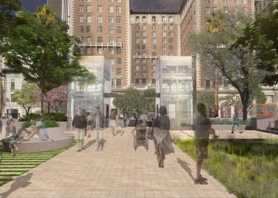 Pershing Square Redesign