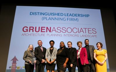 Gruen Associates' Planning Department awarded the 2019 APA-Los Angeles Distinguished Leadership Award