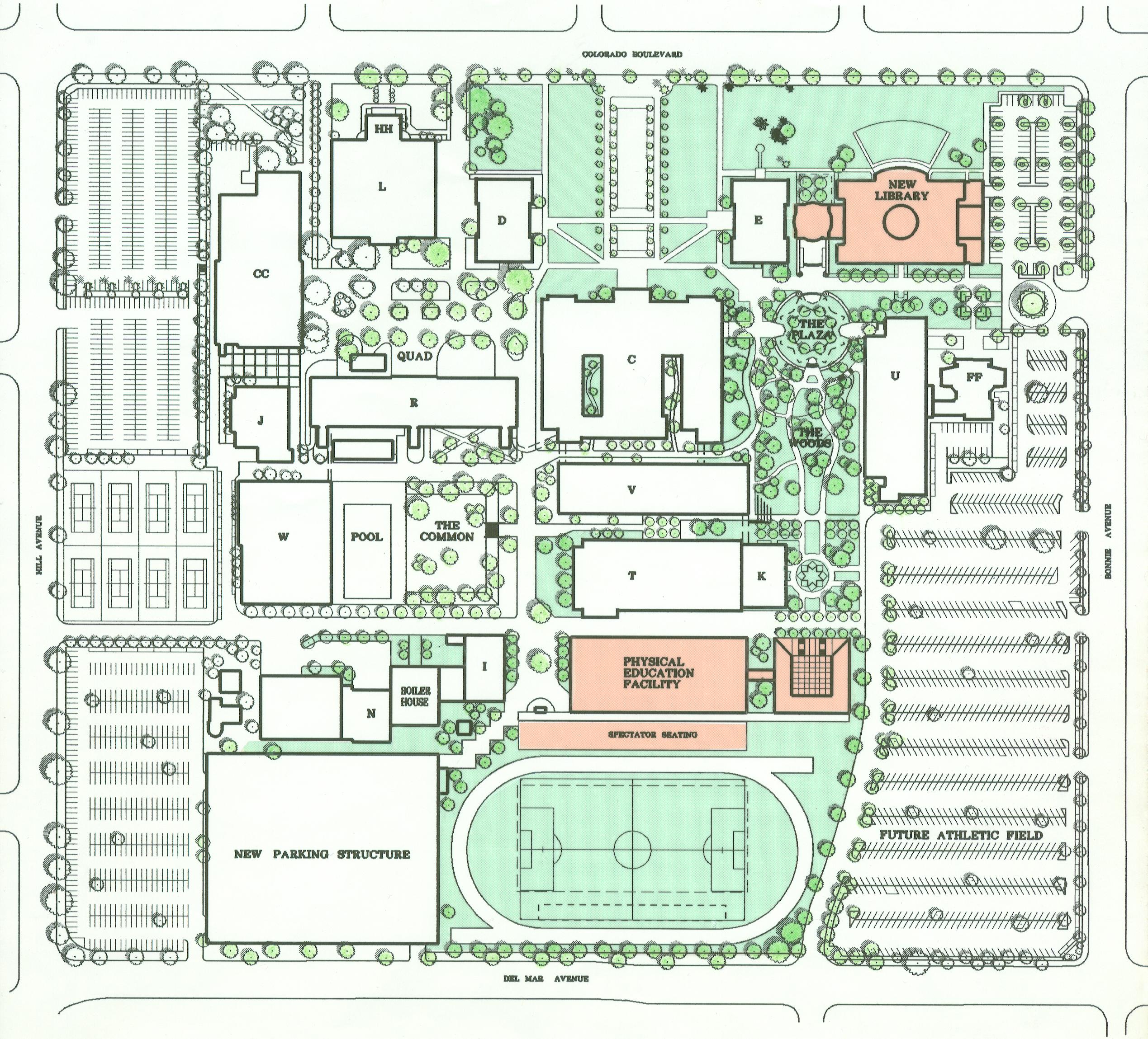 Pasadena City College Master Plan 01