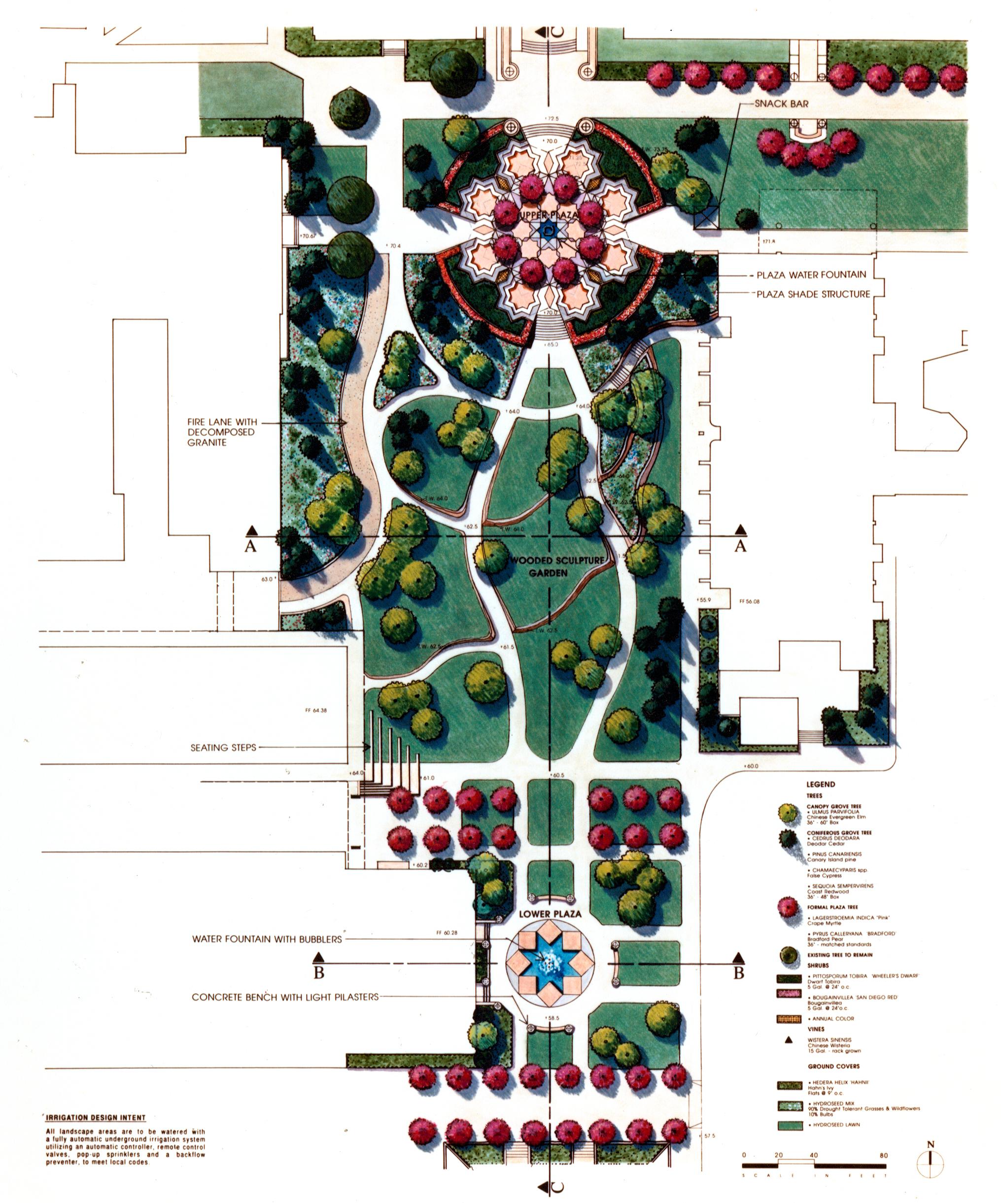 Pasadena City College Sculpture Garden 01