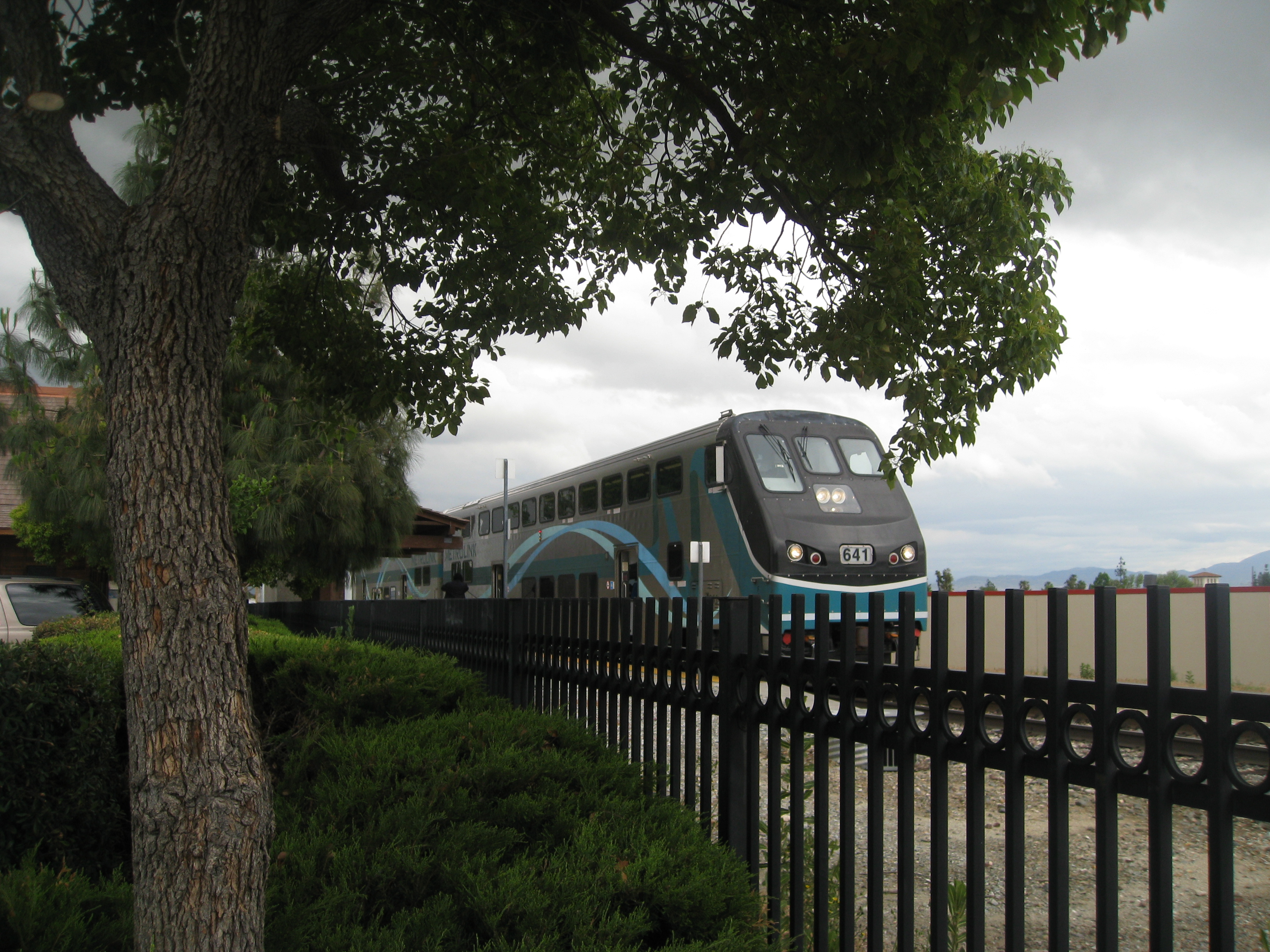 Rialto_Metrolink Train_CLR