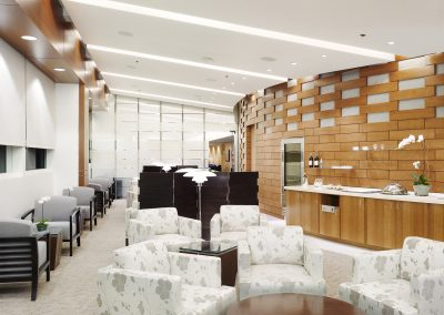 Korean Airlines SkyTeam Lounge at LAX