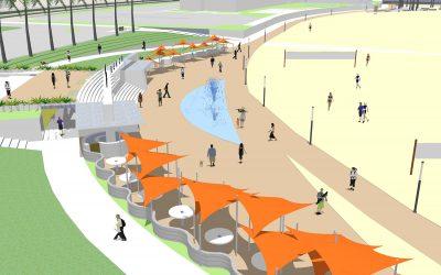 Marina Beach Concept Plan